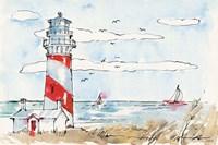 Coastal Life I Fine Art Print