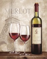 Wine in Paris III Fine Art Print