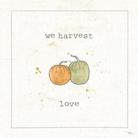 Harvest Cuties I Framed Print