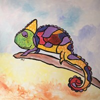 Colorful Creature Fine Art Print