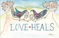 Love Heals Fine Art Print