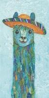 Fernando Llama Fine Art Print