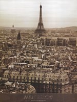 Paris Below Fine Art Print