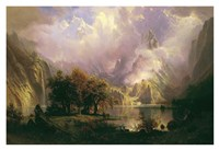 Rocky Mountain Landscape Fine Art Print