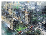 London Green - Big Ben Fine Art Print