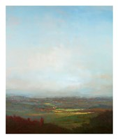Green Valley Below Fine Art Print