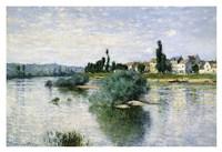 The Seine at Lavacourt Fine Art Print