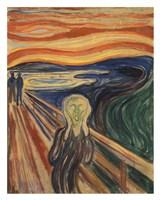 The Scream Framed Print