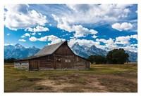 Grand Teton Barn I Fine Art Print
