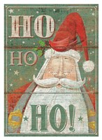 Ho Ho Ho Fine Art Print
