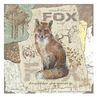 Fox Trot Fine Art Print