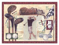 Golf Swing Fine Art Print