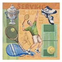 Let's Play Tennis Fine Art Print