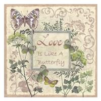 Love and Butterflies Fine Art Print
