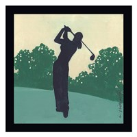 Play Golf I Framed Print