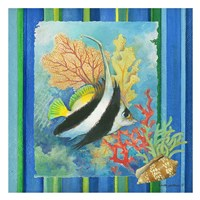 Tropical Fish I Framed Print