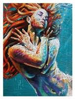 Floating in Color Fine Art Print