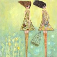 Big Eyed Girls For The Best Fine Art Print