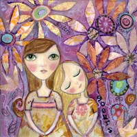 French Sisters Fine Art Print