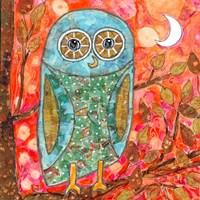 Funky Little Owl Fine Art Print