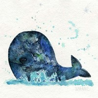 Little Whale Fine Art Print