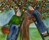 Love Under The Apple Tree Big Diva Fine Art Print