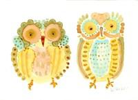 Baby Owls Fine Art Print