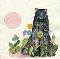 Garden Bear Fine Art Print