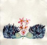Hedgehogs In Love Fine Art Print