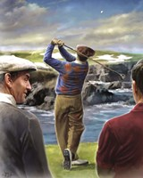 Ben Hogan Golf Fine Art Print