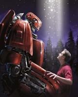 Robot Buddy Fine Art Print