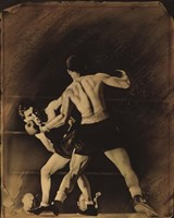 The Boxing Match Fine Art Print