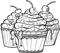 Cupcakes Fine Art Print