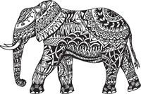 Elephant Side Fine Art Print
