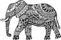 Elephant Side Fine Art Print
