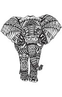 Elephant Zen Fine Art Print