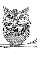 Fat Owl Fine Art Print
