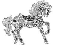 Horsey Fine Art Print
