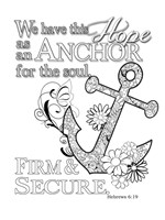 Anchor 2 Fine Art Print