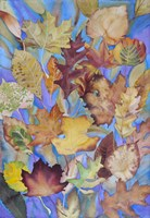 Autumn Leaves V Fine Art Print
