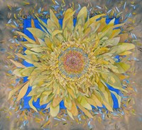 Golden Flower Fine Art Print