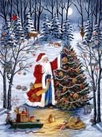 Northwoods Christmas Fine Art Print