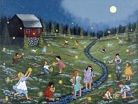Chasing Moonbeams Fine Art Print