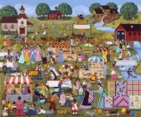 Annual Church Bazaar Fine Art Print