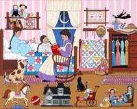 Bedtime Story Fine Art Print