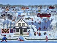 Winter Sampler Fine Art Print