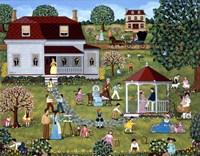 Easter Egg Hunt Fine Art Print