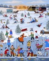 Twilight Skaters '98 Fine Art Print
