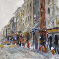 Soho View Fine Art Print