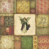 Angel Tapesrty Fine Art Print